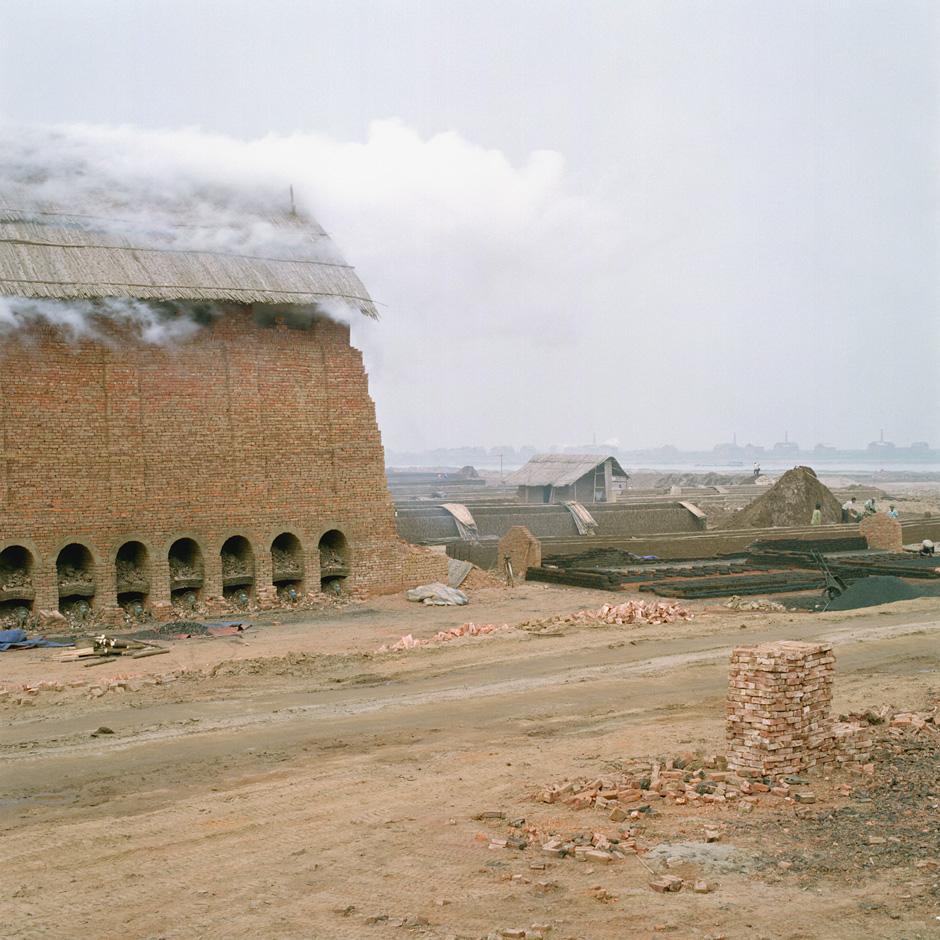 Vietnam - Craft villages - A kiln in Dai Trach brick making village