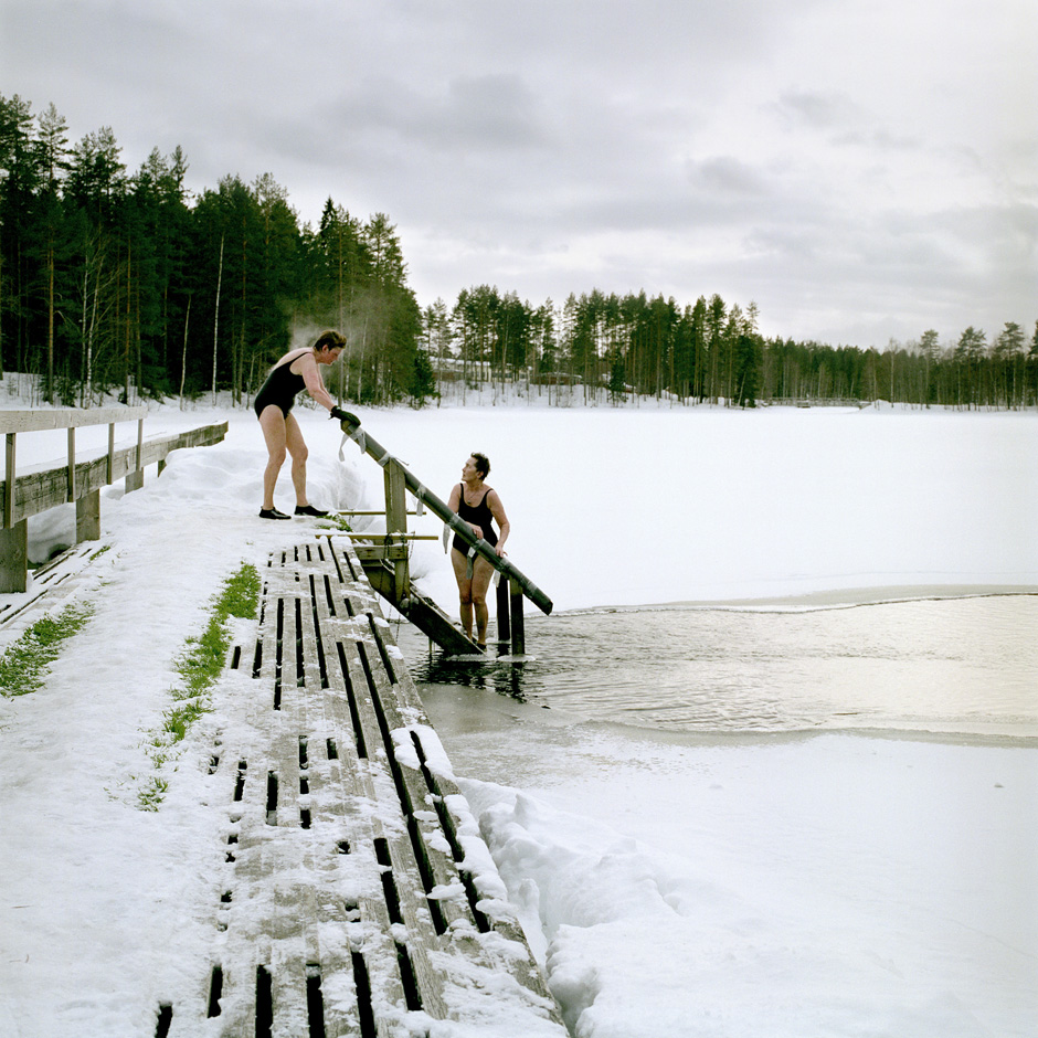 From the series Järvenjää/Lakeice